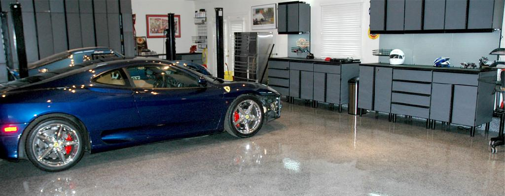 Epoxy Perfo-Tech Inc. Garage Floor